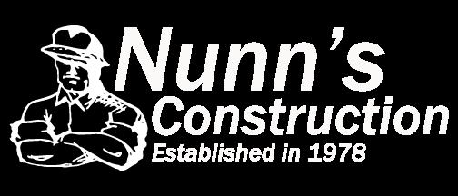 Nunn's Construction Logo